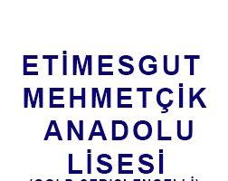Etimesgut Mehmetcik Anadolu Lisesi
